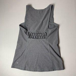 lululemon athletica Tops - Lululemon Athletica Workout Tank Top w/ cutout